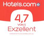 Hotels.com 4.7 von 5 Sternen